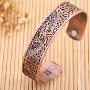 Celtic Tree of Life Cuff Bracelet